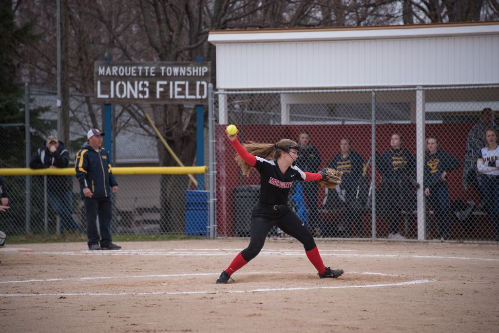 Redettes Pitcher on the Mound.