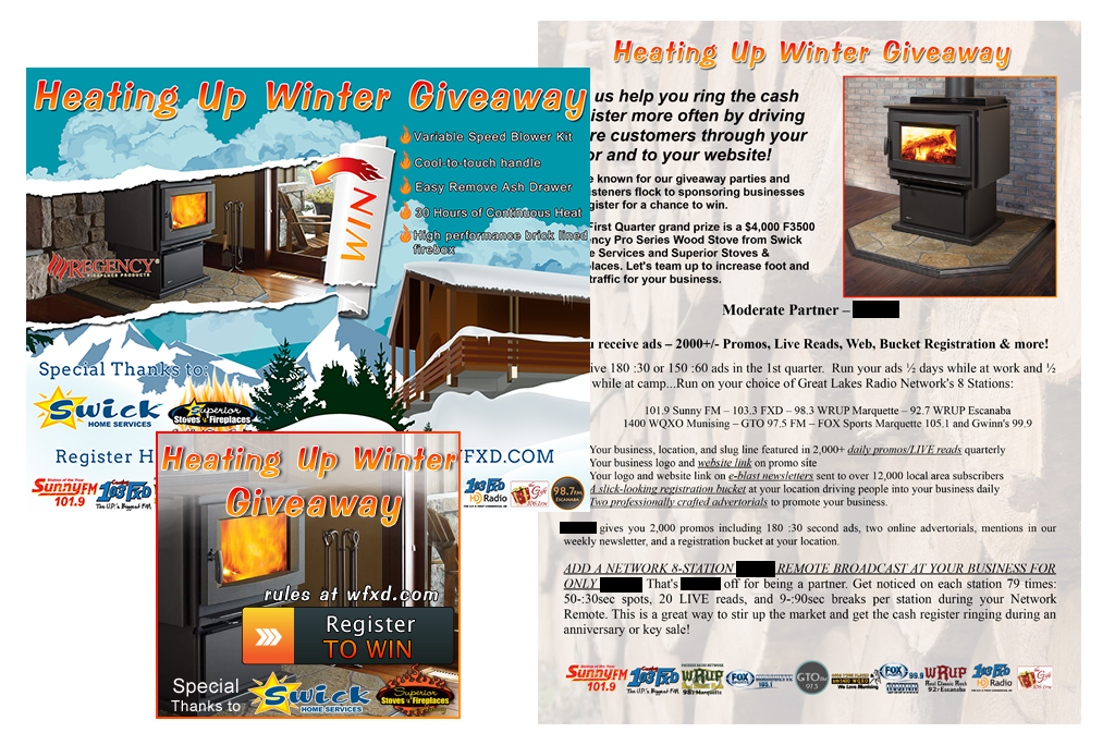The Heating Up Winter Giveaway Promotions