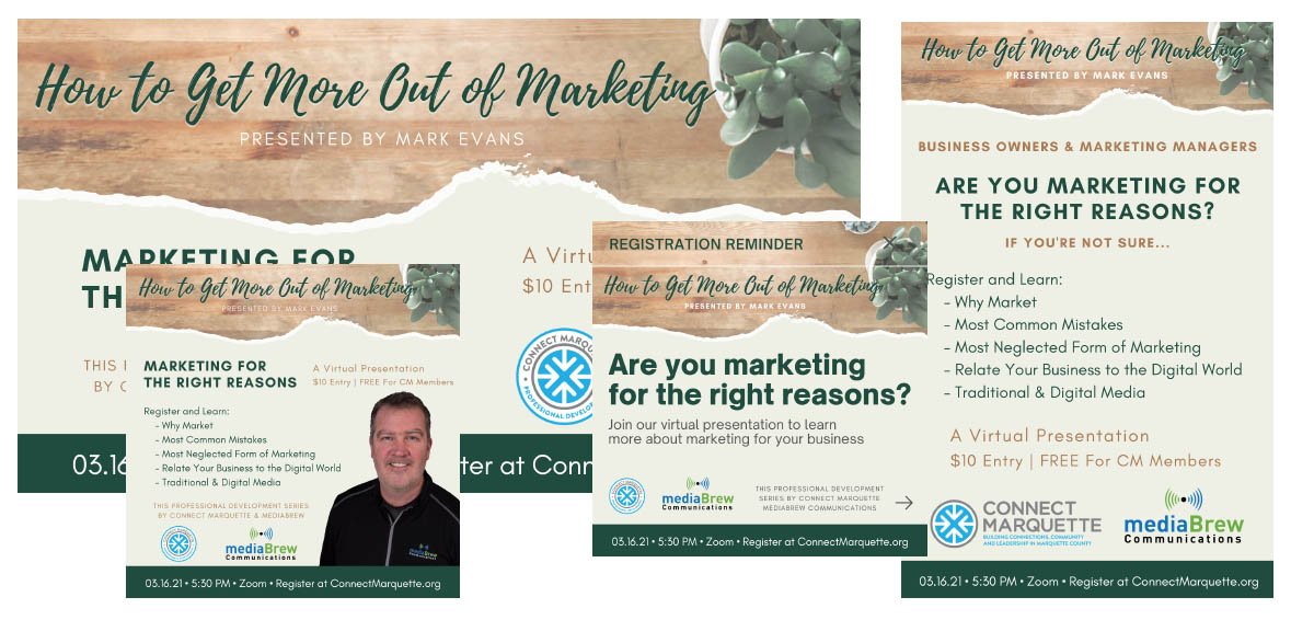 Connect Marquette How to Get More Out of Marketing Virtual Presentation