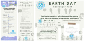 2021 Earth Day Scavenger Hunt Marketing Materials