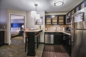 1-Bedroom King Suite at Staybridge Hotel in Marquette.