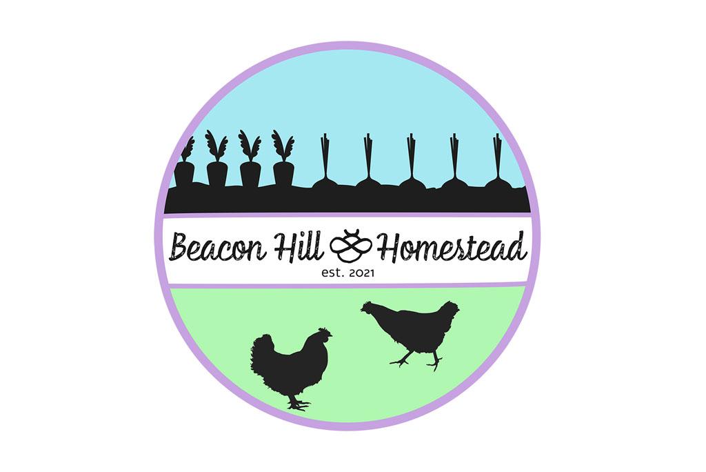Beacon Hill Homestead Logo Mock Up