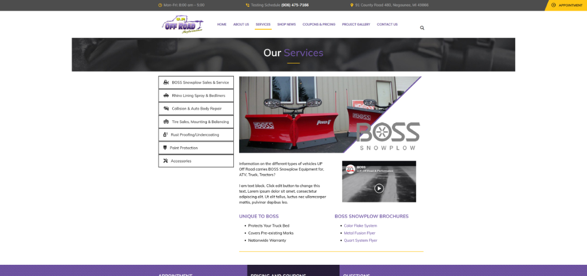 UP-Off-Road-Demo-Mock-Up-Site-Services-Page