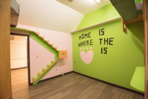 The old cat play room at the Negaunee location.