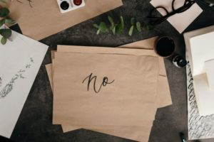 """Say """"No"""" to avoid overwhelming amounts of work."""